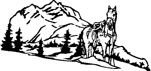 horse-with-mountain