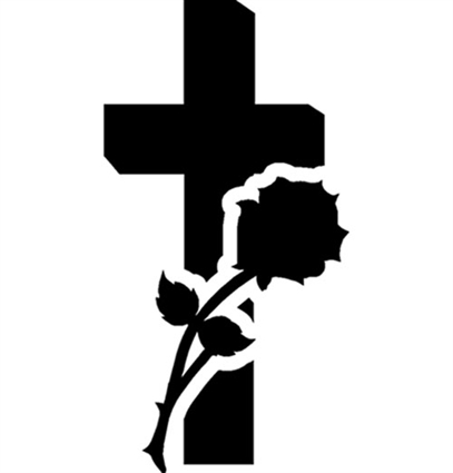 cross-with-rose