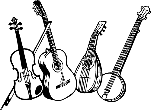 violin-guitar-mandolin-and-banjo