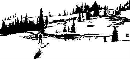mountain-with-lake52-with-man-walking
