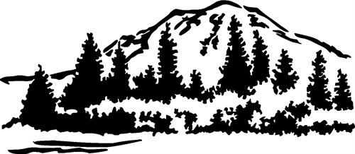 mountain-with-trees
