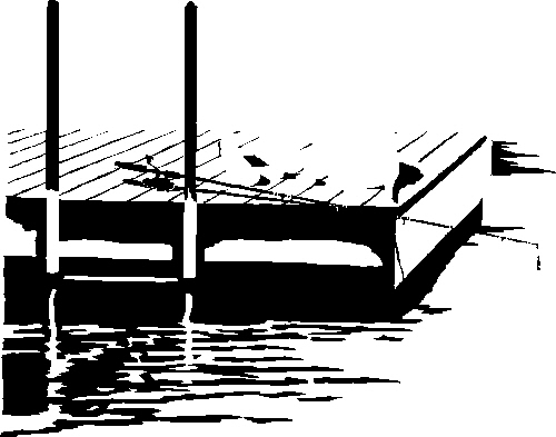 dock-with-poles