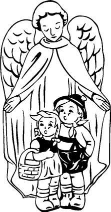 angel-sheltering-kids