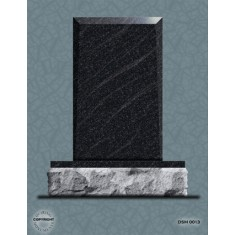 Single Grave Designer Series Upright - DSM 013