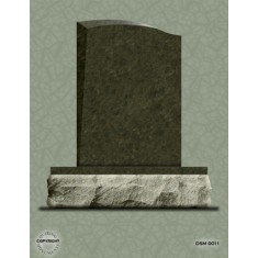 Single Grave Designer Series Upright - DSM 011